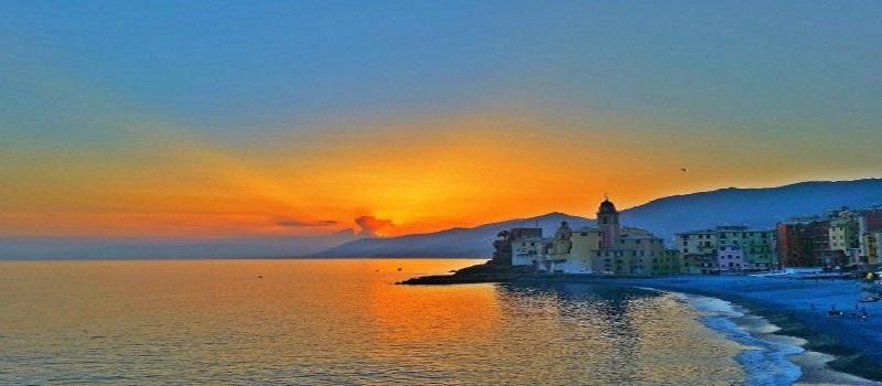 La magia dei tramonti in Liguria
