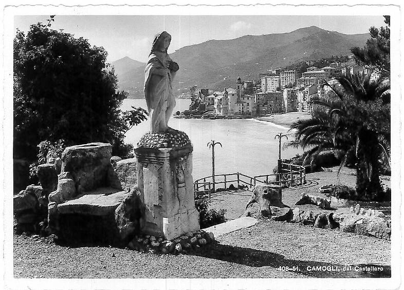 Camogli vista dal Castellaro
