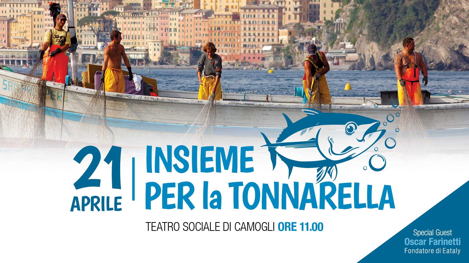 "TOGETHER FOR CAMOGLI 'S ""TONNARELLA"""