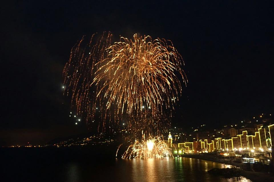New Years' Eve in Camogli