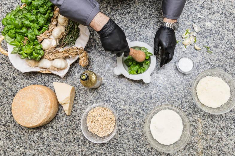 Percorso gastronomico nella Liguria di levante