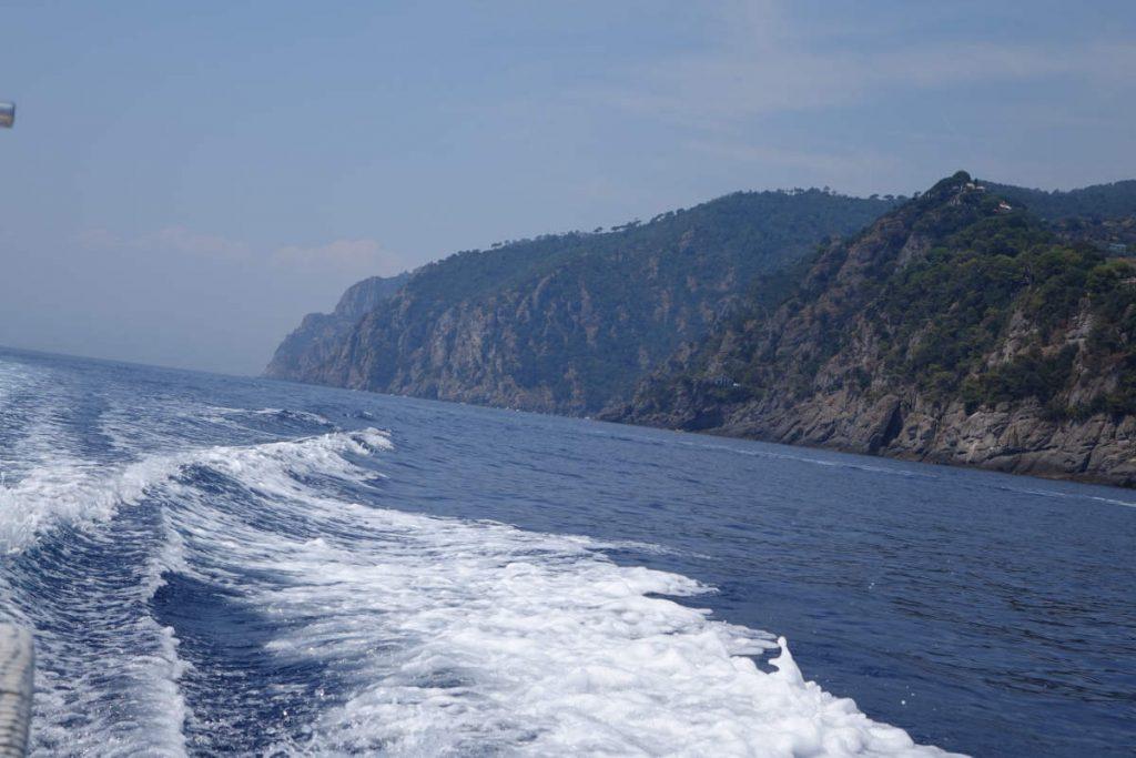gita in barca in Liguria
