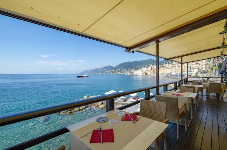 Ristorante La Playa, Hotel Cenobio dei Dogi, Camogli