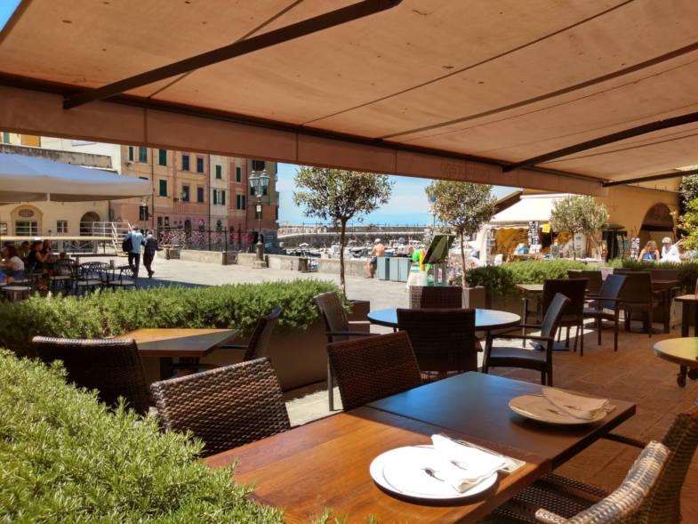 Dehor del ristorante Porto Prego, Camogli