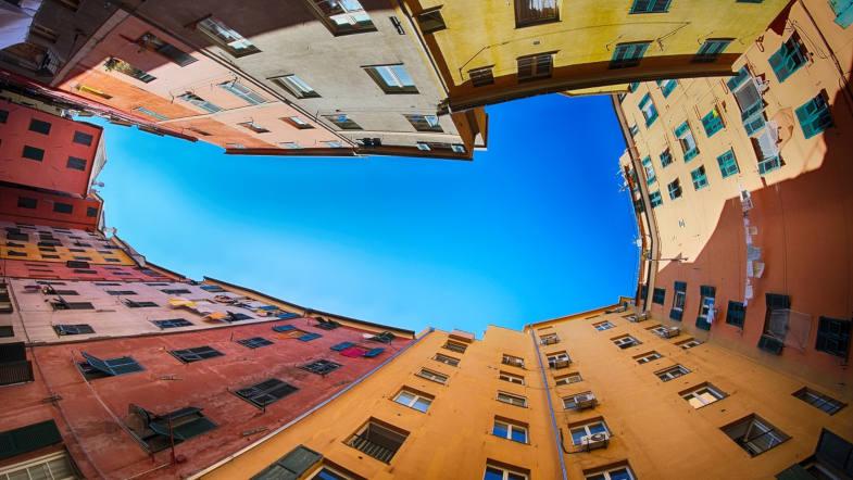 Carruggi, Genova