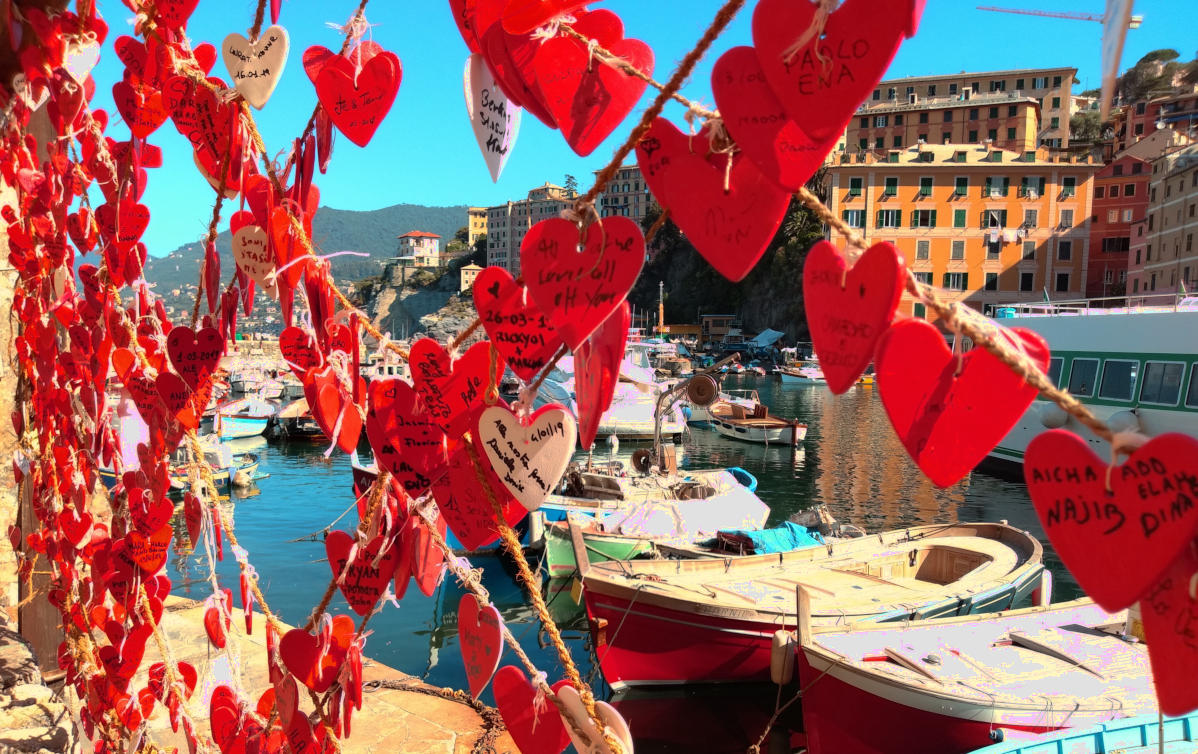 St Valentine's Day 2020 in Camogli