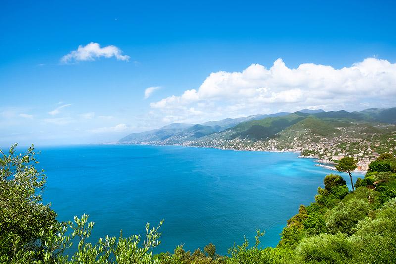 vista da san rocco verso Genova